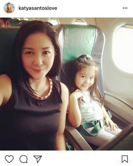"""LOOK: Ang nag-iisang """"Tala"""" sa buhay ni Katya Santos"""
