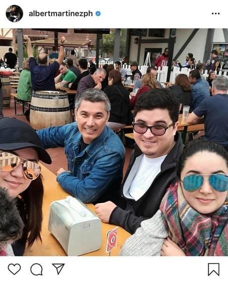 IN PHOTOS: Albert Martinez with his precious children