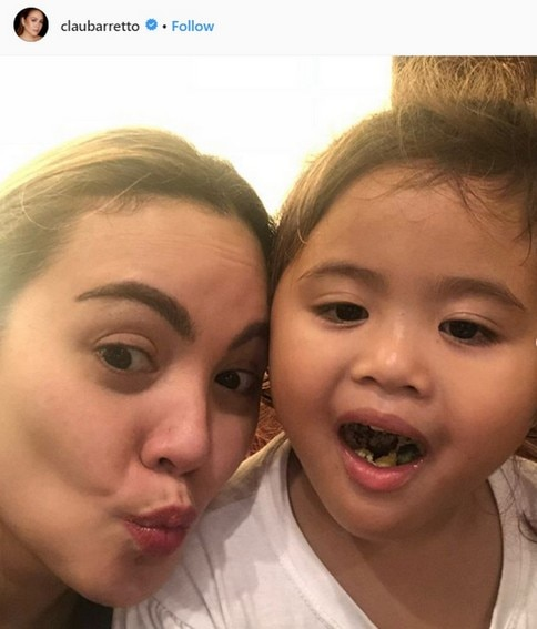 Claudine Barretto with her beautiful children