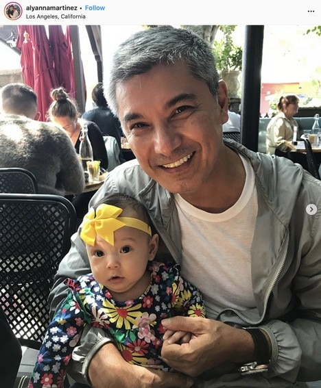 LOOK: Albert Martinez's photos with his beautiful granddaughter