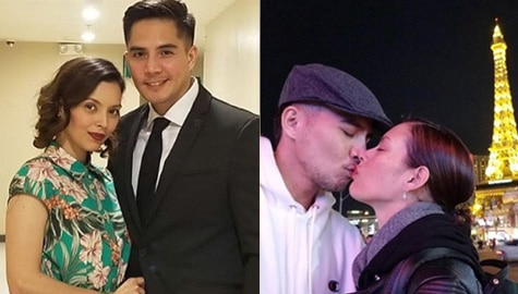 IN PHOTOS: Desiree del Valle with her partner for life