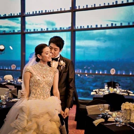 Maricar Reyes with her husband Richard Poon