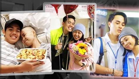 "LOOK: Meet MMK ""Sunflower"" letter sender Gab with girlfriend Max"