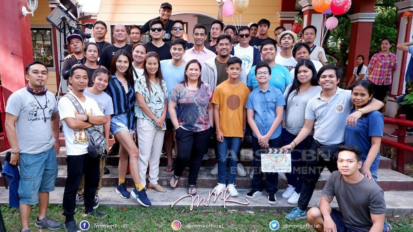 "Behind-The-Scenes: How McCoy de Leon and the cast prepared for their scenes in MMK ""Mata"""