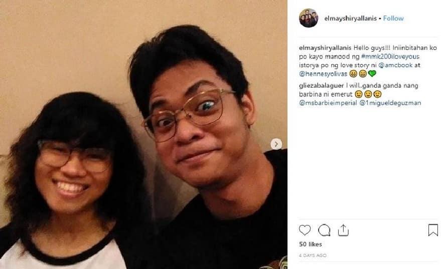 """PHOTOS: Kilalanin ang MMK """"Journal"""" letter sender na si Hennesy kasama ang kanyang pinakamamahal na si Allanis"""