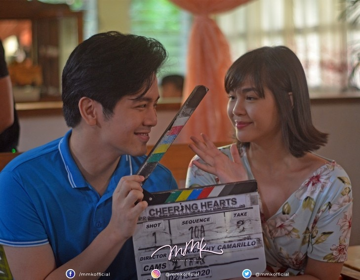 janella salvador joshua garcia mmk you cheer me up bts photos behind the scenes