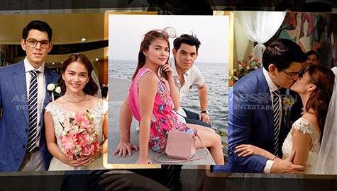 """LOOK: BTS PHOTOS of Richard and Elisse for MMK """"Hot Choco"""""""
