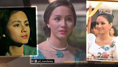LOOK: The Regal and stunning beauty of Charo Santos