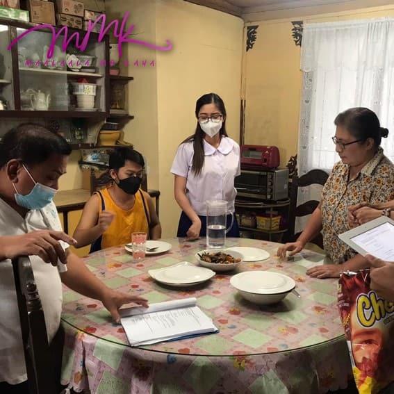 MMK Pangako Ng Pasko bts photos