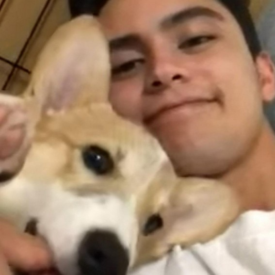 JAMES REID CUTE DOG CAL