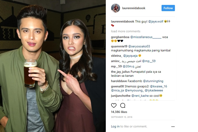 james reid with sister photos