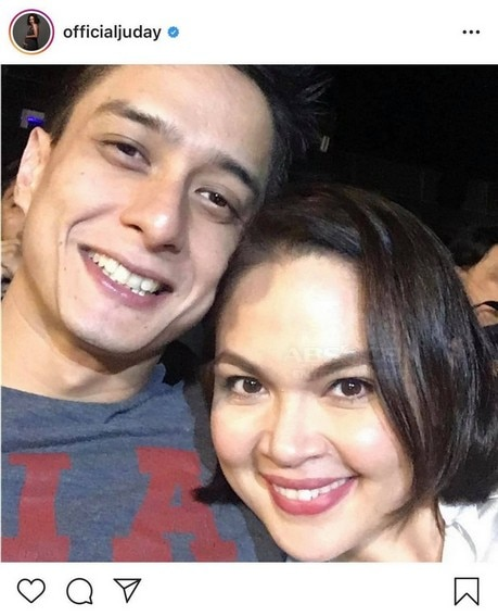 Judy Ann with her loving husband of 12 years