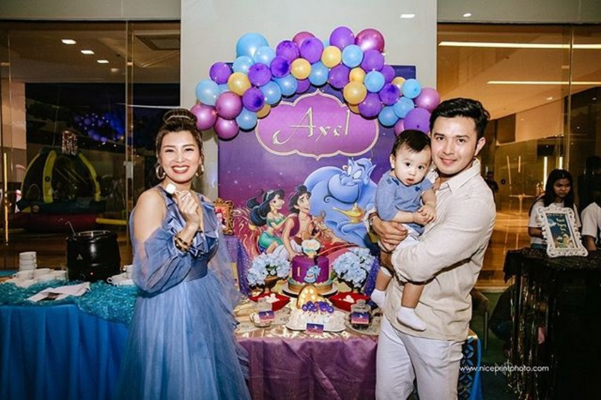 Baby Axel, cute na unico Hijo nina Sunshine at Alex Castro
