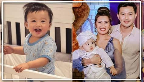 'Baby Axel!' Kilalanin ang cute na cute na unico Hijo nina Sunshine at Alex Castro