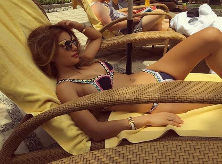 Pamilya Ko Tina Nathalie Heart summer swimsuit sexy