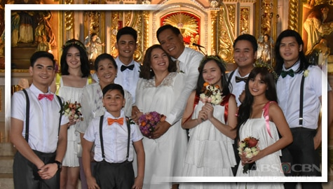 IN PHOTOS: Luz-Fernan Renewal Of Vows