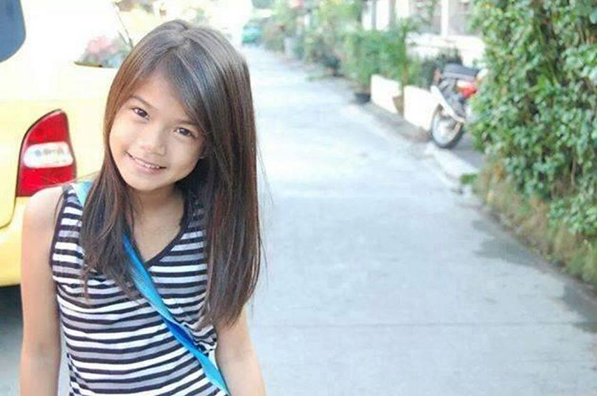 Maris Racal at present Maris Racal in her pre-teen days