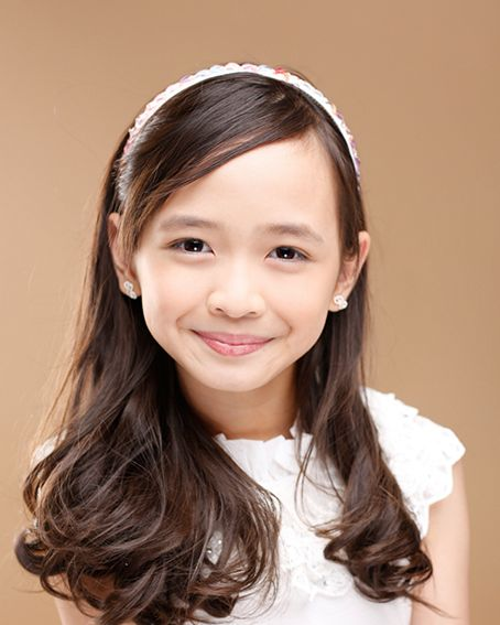 Mutya Orquia when she started as a child actress