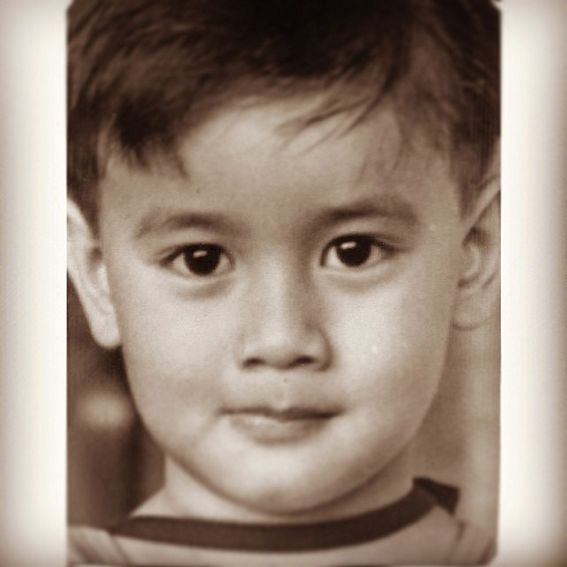 JM de Guzman when he was a cute kid