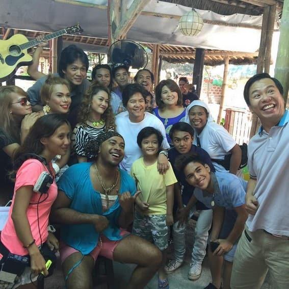 THROWBACK: Behind-The-Scenes Photos on the set of Pangako Sa'Yo