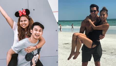 LOOK: Mga litrato ng ex-PBB housemates kasama ang BIG WINNER sa kanilang puso