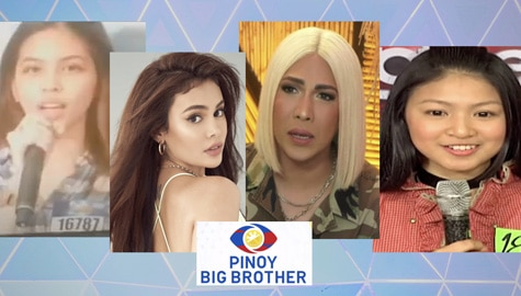 LOOK: Celebrities who once tried their luck in Pinoy Big Brother