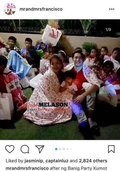 Photos of Melai with her husband Jason