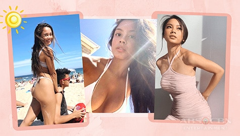 Photos of Ex-PBB Housemate Ylona Garcia embracing her sun-kissed skin