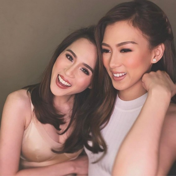 Photos of Toni Gonzaga with her sister Alex