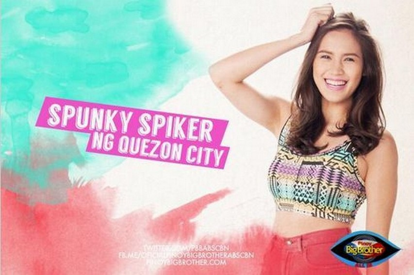 "Michele Gumabao: PBB All In's ""Spunky Spiker ng Quezon City"" (2014)"