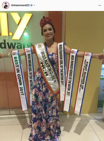 "Kristine Hammond (""Sporty Spice of Laguna"") crowned as Miss Nation Queen Philippines in 2017"
