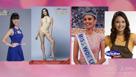 PBB Housemates in pageantry
