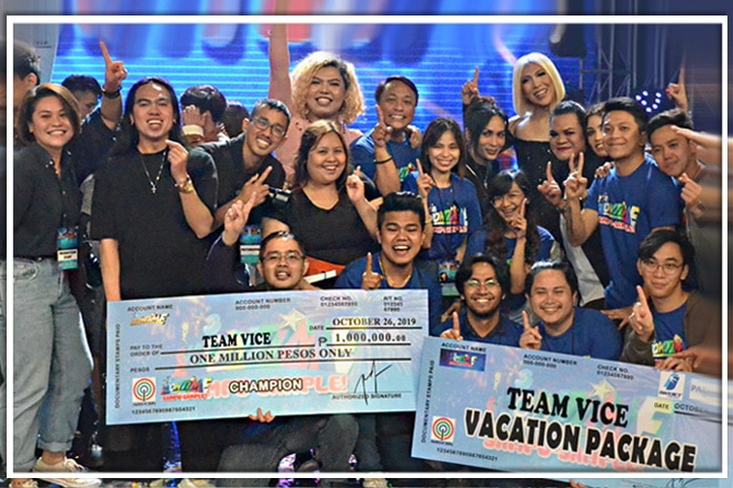 WINNING MOMENTS Team Vice Ganda is Magpasikat 2019 Grand Champion
