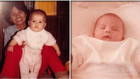Pinagsama-samang baby pictures ni Anne Curtis bago siya magkaroon ng baby