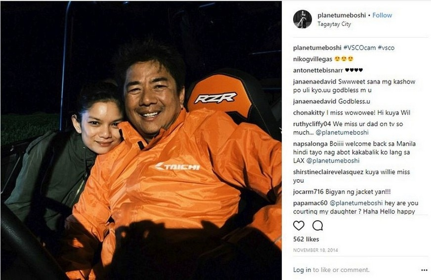 IN PHOTOS: Meryll Soriano with her amazing Dad