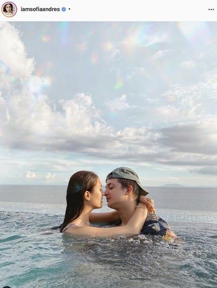 Sofia Andres and Daniel Miranda's sweet moments together