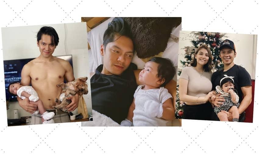 Check out Carlo Aquino's photos enjoying his fatherhood journey