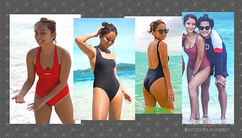 Kathryn Bernardo confidently shows off her glowing morena skin in her beach photos!