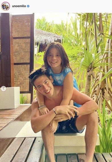 Jake Ejercito special girl in life