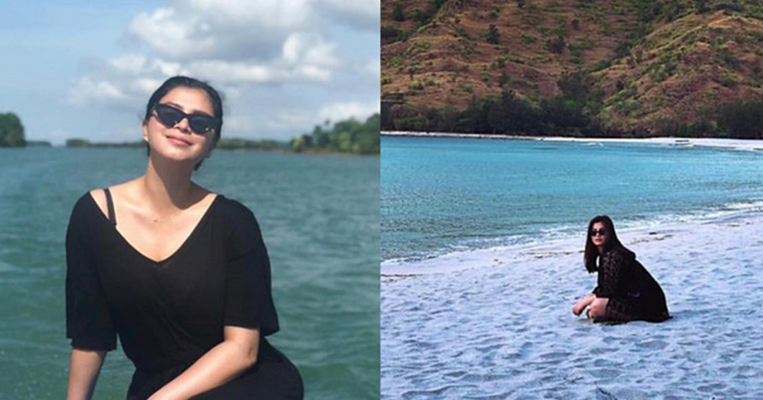 The beautiful beach sanctuary of Angel Locsin