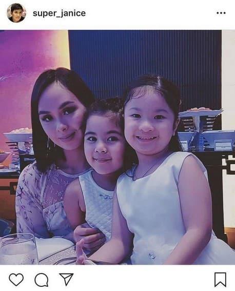 Photos of Janice De Belen with her good-looking kids