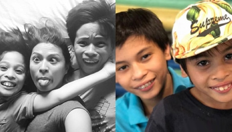 LOOK: 27 Photos of Mylene Dizon with her real-life good sons