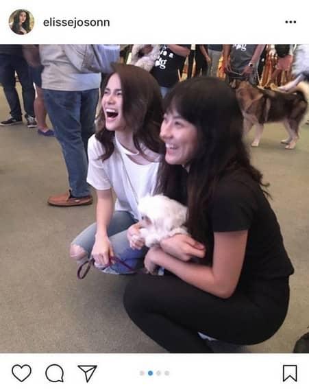 Photos of Elisse Joson with her best friend Jinri