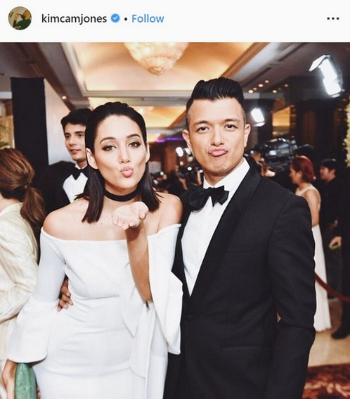 Jericho Rosales with his gorgeous wife