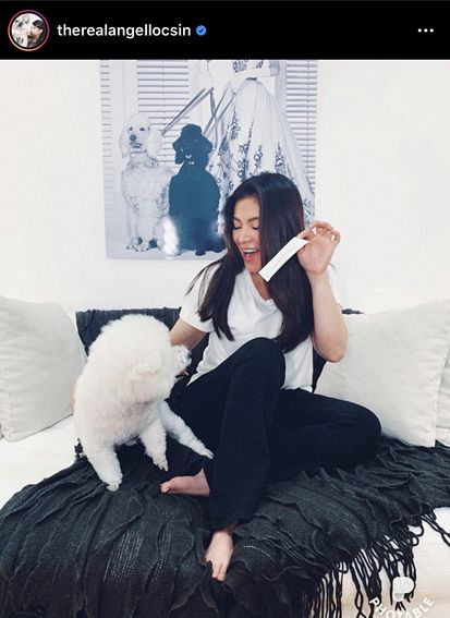 Angel Locsin's sweetest moments with her fur baby