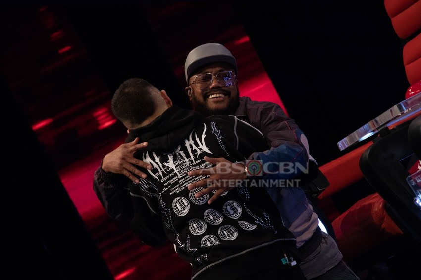 Behind-the-scenes Day 3 Blind Auditions