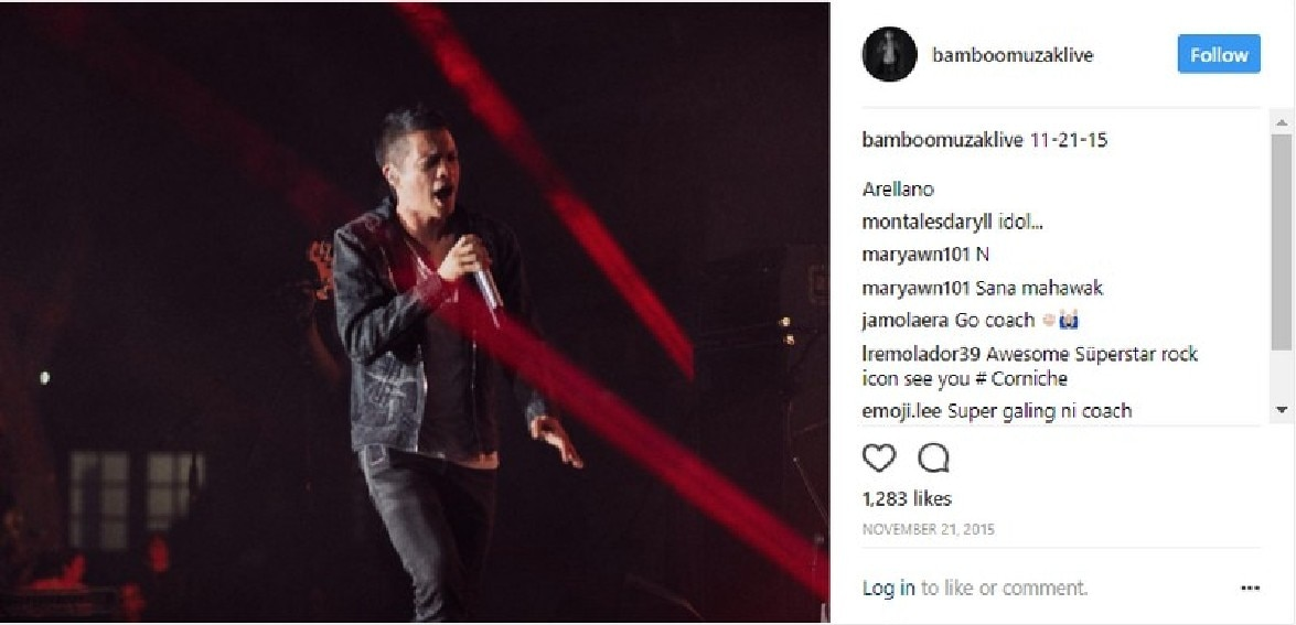 Hallelujah! Bamboo's transformations on stage in these stunning photos