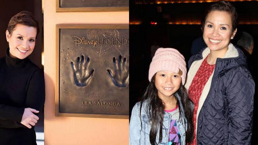 Adorable moments of Disney Legend Lea Salonga with her little princess Nicole