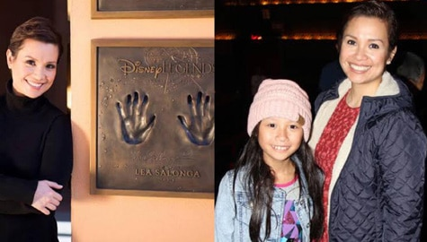 Adorable moments of Disney Legend Lea Salonga with her little princess Nicole