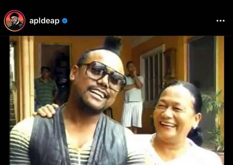 LOOK: Black Eyed Peas' Apl.de.ap with her loving Pinay Mom
